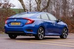 Honda Civic Saloon 2019 right rear outdoor tracking