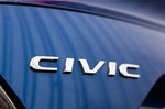 Honda Civic Saloon 2019 badge detail