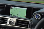 Lexus IS infotainment