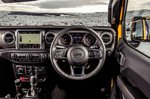 Jeep Wrangler 2019 RHD dashboard