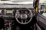 Jeep Wrangler 2019 RHD dashboard