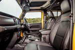 Jeep Wrangler 2019 RHD front seats