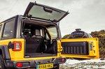 Jeep Wrangler 2019 RHD boot open