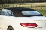 Mercedes-AMG C63 Convertible roof up