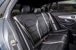 Mercedes-AMG C63 Estate rear seats