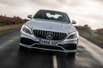 Mercedes-AMG C63 Saloon front driving