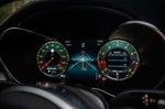 Mercedes-AMG C63 Saloon digital instruments