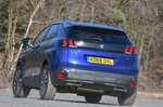 Peugeot 3008 2019 front left rear cornering shot