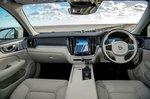 Volvo V60 CC 2019 RHD front seats
