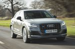 Audi SQ2 2019 front tracking shot