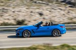 BMW Z4 2019 side panning exterior