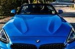 BMW Z4 2019 bonnet view static