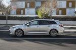 Toyota Corolla Touring Sport 2019 left panning shot