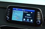 Hyundai Santa Fe 2019 infotainment