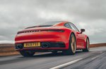 2019 Porsche 911 (992) rear from low down