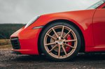 2019 Porsche 911 (992) front alloy wheel