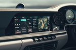 2019 Porsche 911 (992) infotainment touchscreen