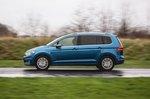 Volkswagen Touran 2019 fast left panning shot