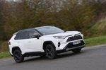 Toyota RAV4 2021 wide tracking shot