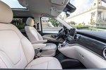 Mercedes-Benz V-Class 2019 LHD front seats