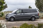 Mercedes-Benz V-Class 2019 left side tracking