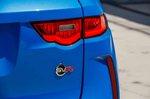 Jaguar F-Pace SVR 2019 rear light detail