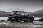 BMW X7 2019 UK rear right static