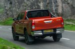 Toyota Hilux 2019 rear cornering shot