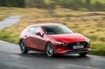 2019 Mazda 3 front tracking shot