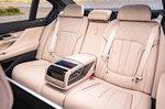 BMW 7 Series 2019 RHD rear seat
