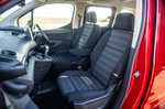 Vauxhall Combo Life 2019 RHD front seats