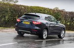 Maserati Levante 2019 RHD rear tracking shot