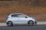 Peugeot 108 2018 RHD right panning shot