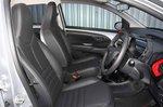 Peugeot 108 2018 RHD front seats
