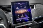 2020 Renault Zoe touchscreen