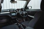 Suzuki Swift 2019 RHD dashboard and front seats
