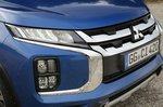 Mitsubishi ASX 2019 LHD front end detail shot