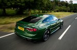 Audi RS5 Sportback 2019 high rear tracking shot