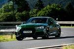 Audi RS5 Sportback 2019 front cornering shot