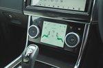 Jaguar XE 2019 RHD centre console climate control