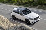 Mercedes-AMG GLC 63 Facelift 2019 wide front view