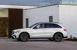 Mercedes-AMG GLC 63 Facelift 2019 left side static