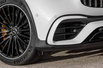 Mercedes-AMG GLC 63 Facelift 2019 front end detail