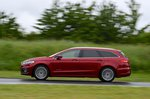 Ford Mondeo Estate 2019 RHD side panning