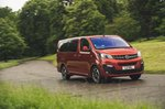 Vauxhall Vivaro Life 2019 wide tracking shot