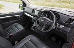 Vauxhall Vivaro Life 2019 RHD front seats