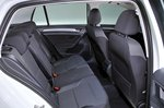 Volkswagen e-Golf 2017 RHD rear seats