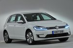 Volkswagen e-Golf 2017 RHD front left studio