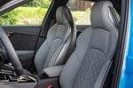 Audi S4 2019 LHD front seats, rearward