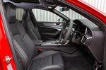 Audi S6 Avant front seats